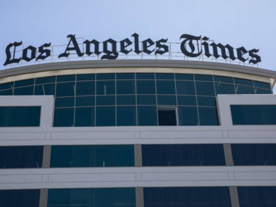 L A Times Avoiding the Story